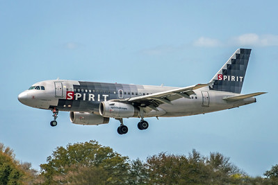 Spirit Airlines, N507NK, Airbus A319-132, msn 2560, Photo by John A Miller, TPA, Image AB063LAJM