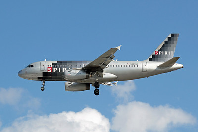 Spirit Airways, N528NK, Airbus A319-132, msn, 2983, Photo by John A. Miller, TPA, Image AB017LAJM