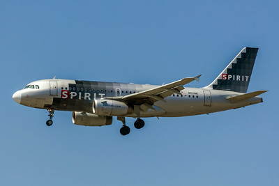 Spirit, N531NK, Airbus A319-132, msn 3026, Photo by John A Miller, LAX, Image AB027LAJM