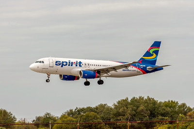 Spirit Airlines, N604NK, Airbus A320-232, msn 4431, Photo by John A Miller, TPA, Image T165LAJM