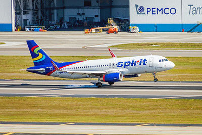 Spirit Airlines, N630NK, Airbus A320-232(WL), msn 6304, Photo by John A Miller, TPA, Image T121LAJM