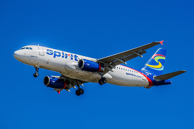 Spirit Airlines, N606NK, Airbus A320-232, msn 4592, Photo by John A Miller, TPA, Image T076LAJM