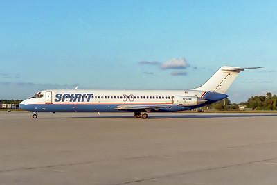 Spirit Airlines, N132NK, Douglas DC-9-31, msn 47202, Photo by John A Miller, TPA, Image C114LGJM