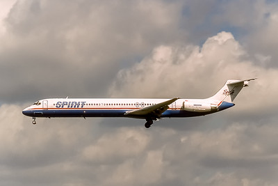 Spirit Airlines, N800NK, McDonnell Douglas MD-82, msn 49144, Photo by Photo Enrichments Collection, Image D079LAJC