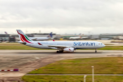 SriLankan Airlines, 4R-ALR, Airbus A330-343, msn 1689, Photo by John A Miller, LHR, Image WW011RGJM