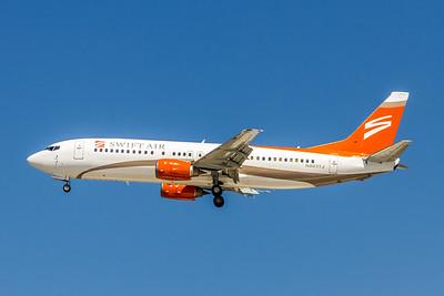 Swift Air, N803TA, Boeing 737-45D, msn 27156, Photo by John A Miller, TPA, Image L036LAJM