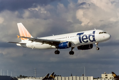 Ted by United, Airbus A320-232, Photo by Photo Enrichments Collection, MIA, Image T151LGJC