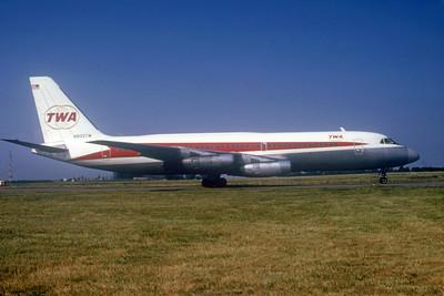 TWA, N805TW, Convair CV-880, msn 22-00-6, Photo by Photo Enrichments Collection, Image CV002RGJC