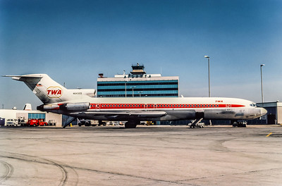 TWA, N64320, Boeing 727-231, msn 20053, Photo by Derek Hellman, ATL, Image I090RGDH
