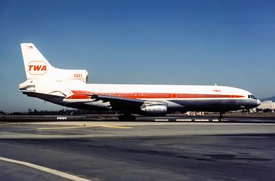 TWA, N81026, Lockheed L-1014-385-1-15 TriStar 100, msn 193B-1104, Photo by Adrian J Smith, Image Q011RGAS
