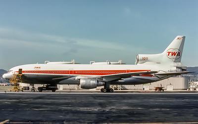 TWA, N31015, Lockheed L-1011-385-1 TriStar 1, msn 193B-1059, Photo by Photo Enrichments Collection, Image Q003LGJC