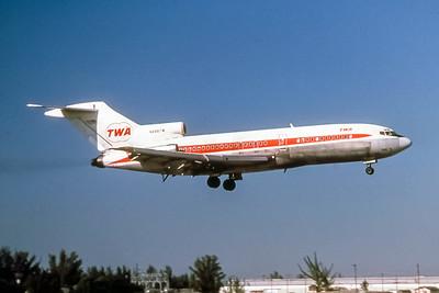 TWA, N848TW, Boeing 727-31, msn 18751, Photo by Frank Hines, Image I180RAFH