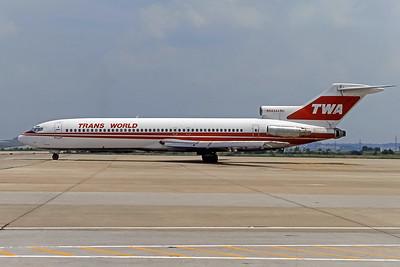 TWA, N54344, Boeing 727-231, msn 21631, Photo by Frank Hines, ATL, Image I162LGFH