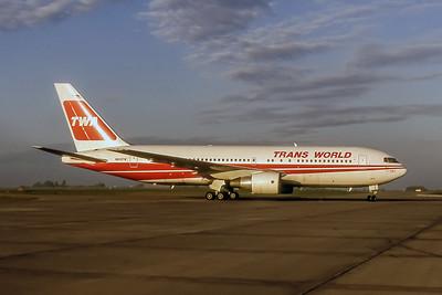 TWA, N609TW, Boeing 767-231, msn 22572, Photo by Wilfred C Wann Jr, Image P006RGWW