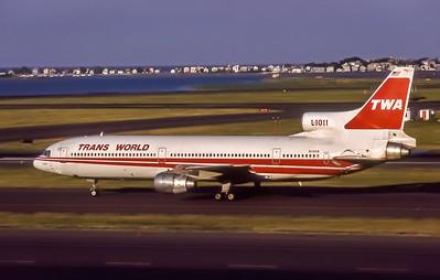 TWA, N11006, Lockheed L-1011-385-1 TriStar1, msn 193B-1018, Photo by Dean Slaybaugh, BOS, Image Q034LGDS