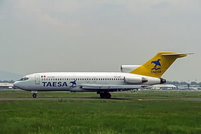 Taesa, XA-JJA, Boeing 727-76,  msn 18843, Photo by Andrew Abshier, Image I098LGAA