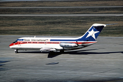 Texas International Airlines, N5726, Douglas DC-9-14, msn 45726, Photo by Andrew Abshier, Image  C018LGAA