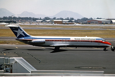 Texas International Airlines, N1310T, Douglas DC-9-31, msn 47487, Photo by Dean Slaybaugh, Image C065RGDS