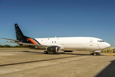 Titan Airways, N844AU, Boeing 737-436(SF), msn 25844, Photo by John A Miller, TPA, Image L045RGJM
