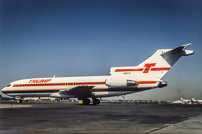 Trump Shuttle, N8121N, Boeing 727-25, msn 18272, Photo by Bob Shane, Image I039LGBS