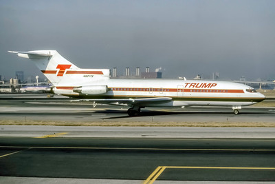 Trump Shuttle, N901TS, Boeing 727-25, msn 18257, Photo by Eddy Gual Collection, Image I214RGEG