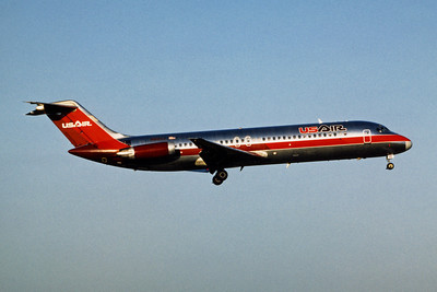 USAir, N991VJ, Douglas DC-9-31, msn 47310, Photo by Adrew Abshier, Image C031RAAA