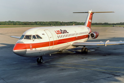 USAir, N1542, BAC 111-203AE, msn 016, Photo by Photo Enrichments Collection, Image V018LGJC