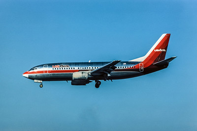 USAir, N396US, Boeing 737-3B7, msn 23318, Photo by Andrew Abshier, Image K005LAAA