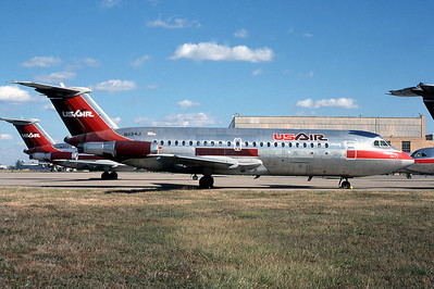 USAir, N1134J, BAC111-203AE, msn 45, Photo by Photo Enrichments Collection, Image V017RGJC