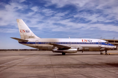 USAir, N234US, Boeing 737-201(A), msn 22274, Photo by Photo Enrichments Collection, Image J191RGSO