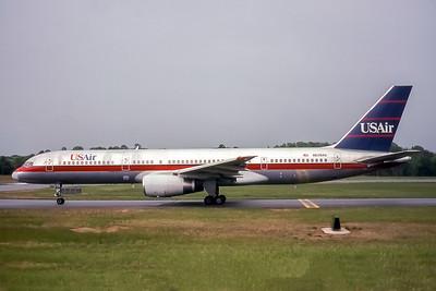 USAir, N628AU, Boeing 757-2B7, msn 27806, Photo by John A Miller, GSO, Image N029LGJM