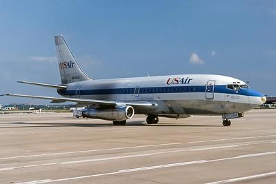 USAir, N245US, Boeing 737-201Adv, msn 22751, Photo by Frank Hines, Image J146RGFH