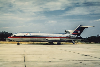 USAir, N760US, Boeing 727-2B7Adv, msn 21954, Photo by John A Miller, GSO, Image I062LGJM