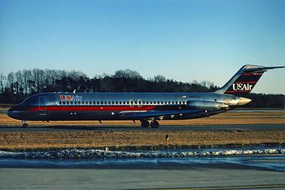 USAir, N967VJ, Douglas DC-9-31, msn 47375, Photo by John A. Miller, GSO, Image C069LGJM