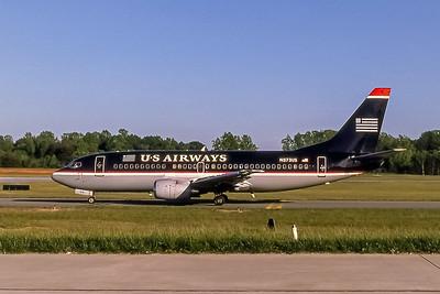 USAirways, N573US, Boeing 737-301, msn 23560, Photo by John A Miller, GSO, Image K047LGJM