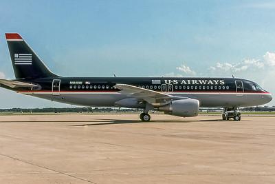USAirways, N104UW, Airbus A320-214, msn 863, Photo by John A Miller, TPA, Image T022RGJM