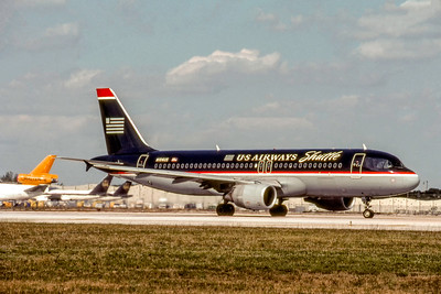 USAirways Shuttle, N106US, Airbus A320-214, msn 1044, Photo by Photo Enrichments Collection, MIA, Image T002RGJC