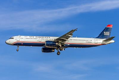 USAirways, N540UW, Airbus A321-231, msn 4107, Photo by John A Miller, TPA, Image TA018LAJM