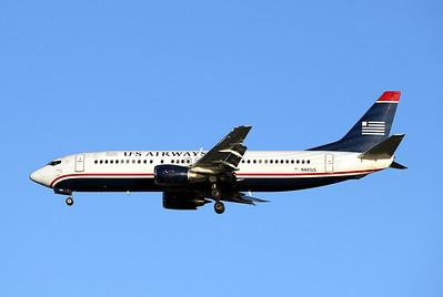 USAirways, N441US, Boeing 737-4B7, msn 24812, Photo by John A. Miller, TPA, Image L013LAJM