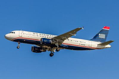 USAirways, N108UW, Airbus A320-214, msn 1061, Photo by John A Miller, TPA, Image T097LAJM
