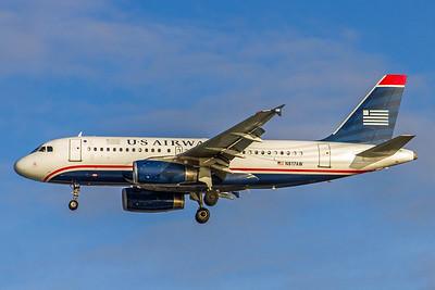 USAirways, N817AW, Airbus A319-132, msn 1373, Photo by John A Miller, TPA, Image AB029LAJM