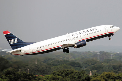 USAirways, N439US, Boeing 737-4B7, msn24781, Photo by John A. Miller, TPA, Image L018RAJM