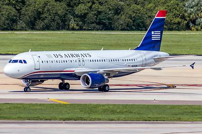 USAirways, N125UW, Airbus A320-214, msn 4086, Photo by John A Miller, TPA, Image T092LGJM