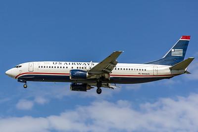 USAirways, N406US, Boeing 737-401, msn 23876, Photo by John A Miller, TPA, Image L029LAJM