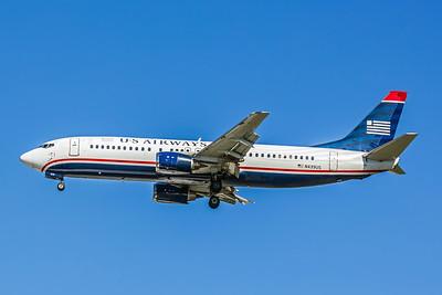 USAirways, N439US, Boeing 737-4B7, msn 24781, Photo by John A Miller, TPA, Image L033LAJM