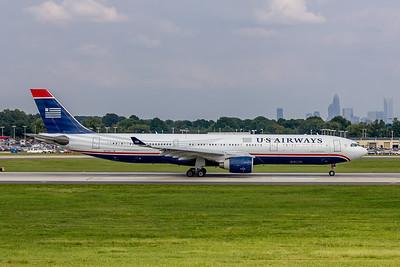 USAirways, N272AY, Airbus A330-323, msn 333, Photo by John A Miller, CLT, Image WW004RGJM