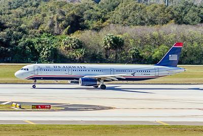 USAirways, N535UW, Airbus A321-231, msn 3993, Photo by John A Miller, TPA, Image TA019LGJM