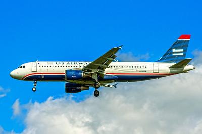 USAirways, N110UW, Airbus A320-214, msn 1112, Photo by John A Miller, TPA, Image T093LAJM