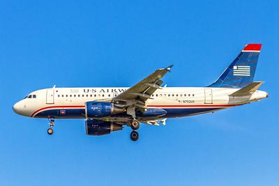 USAirways, N752US, Airbus A319-112, msn 1319, Photo by John A Miller, TPA, Image AB031LAJM