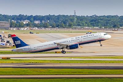 USAirways, N523UW, Airbus A321-231, msn 3960, Photo by John A Miller, ATL, Image TA012RAJM